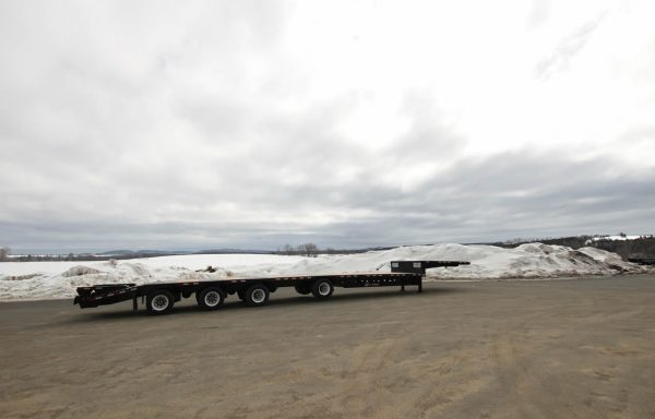 BWS Drop deck 4 axles with beavertail/ramps