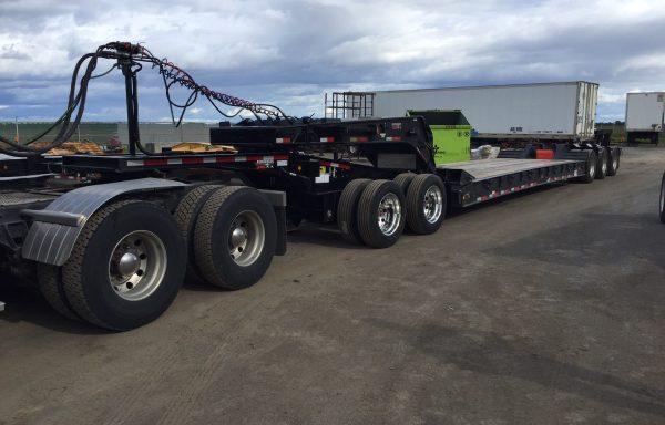 Talbert 55 ton ready jeep/tridem truck